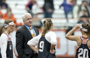 Gary Gait, pictured above, and Syracuse University are being sued for reckless and negligent conduct.