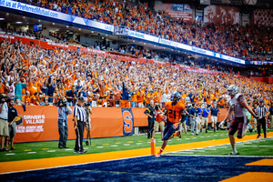 In the 2016 opener, Syracuse handily beat Colgate. Next season, it will face another FCS opponent to start season play.
