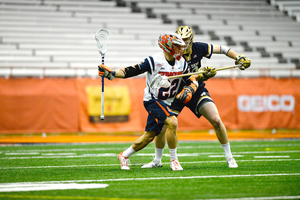Jordan Evans will have to take on a larger role with Syracuse's other two attacks, Dylan Donahue and Tim Barber, gone.