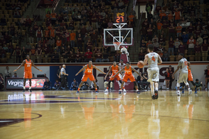 After winning two consecutive games, Syracuse fell to the Hokies on Tuesday night.