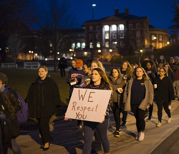 Taking to the streets, SU students rally against sexual assault and rape culture during annual event